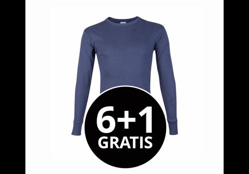 Beeren Heren T-Shirt Lange Mouw M3000 Donkerblauw voordeelpack