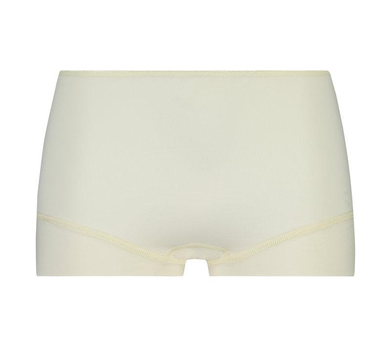 dames short elegance ivoor 2-Pack
