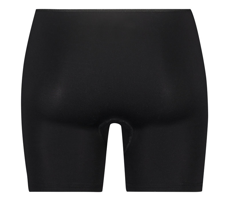 dames boxer elegance zwart 2-Pack