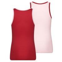 Meisjes Hemd 2-Pack Roze/Rood