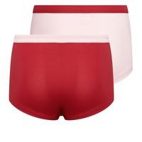 Meisjes boxer 2-pack roze/rood