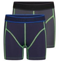 Beeren Mix & Match Jongens Boxer Blauw/Grijs Beeren Mix & Match Jongens Boxer Oranje/Blauw 2-Pack