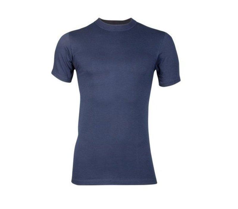 heren comfort feeling T-shirt marine