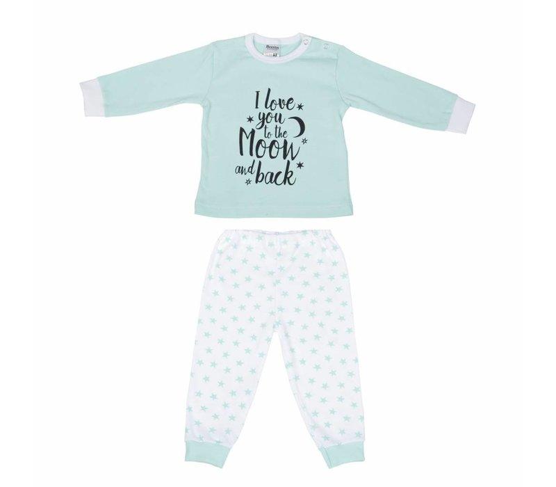 Beeren baby pyjama to the moon mint