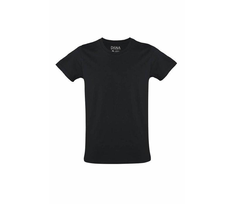 extra lange t-shirts 2-pack zwart