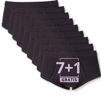 Beeren Heren Slip Met Gulp Zwart M3000 voordeelpack