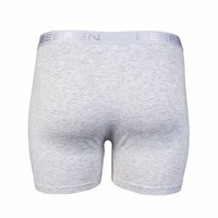 heren boxershort met gulp L-grijs 2-Pack