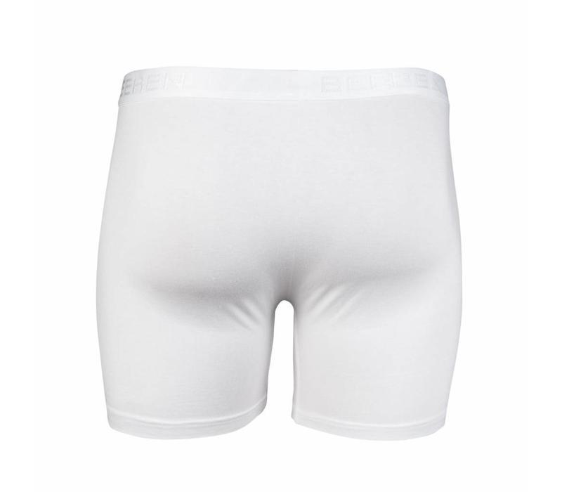 heren boxershort met gulp wit 2-Pack