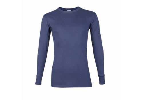 Beeren Heren T-Shirt Lange Mouw M3000 Donkerblauw
