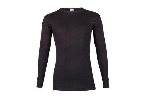 Beeren Heren T-Shirt Lange Mouw M3000 Zwart