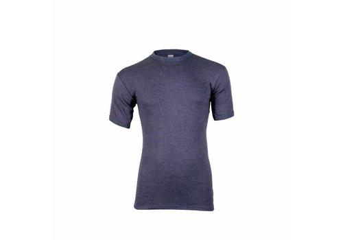 Beeren Heren Thermo Shirt Korte Mouw Marine
