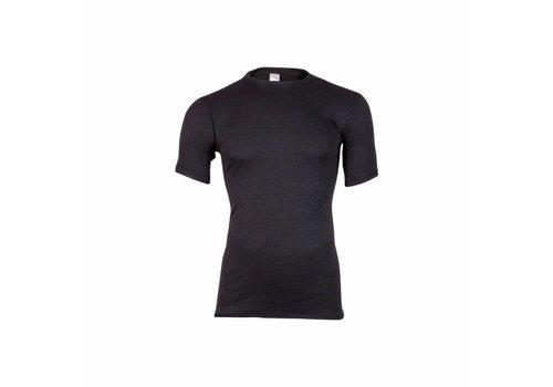 Beeren Heren Shirt Korte Mouw Thermo Zwart