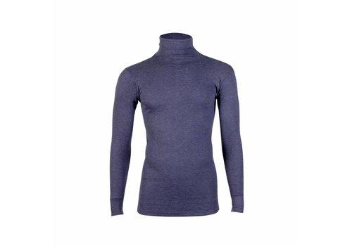 Beeren Unisex Thermo Shirt Col Lange Mouw Marine