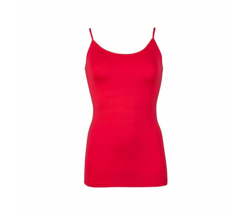 dames top elegance rood