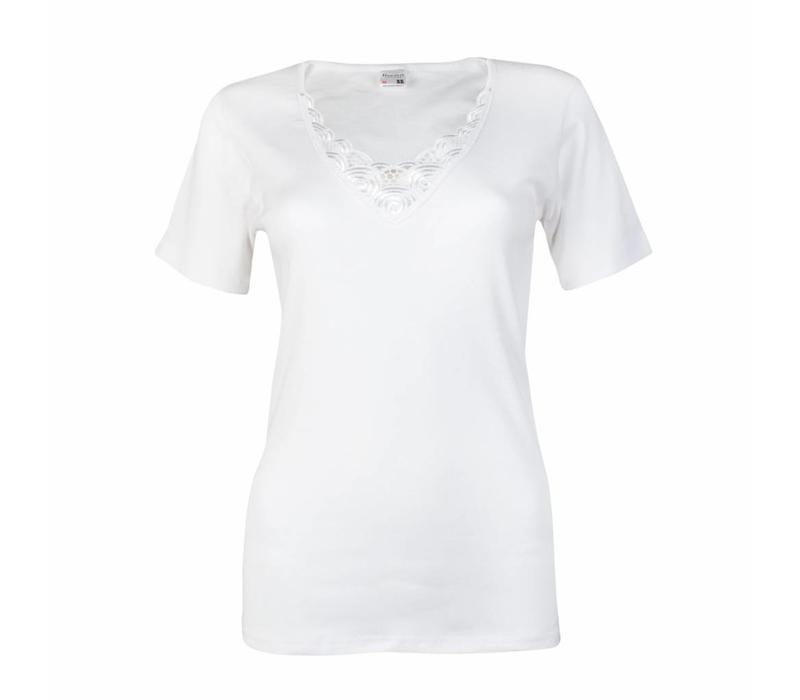 dames T-shirt beatrix wit