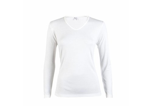 Beeren Dames Thermo Shirt Lange Mouw Wit