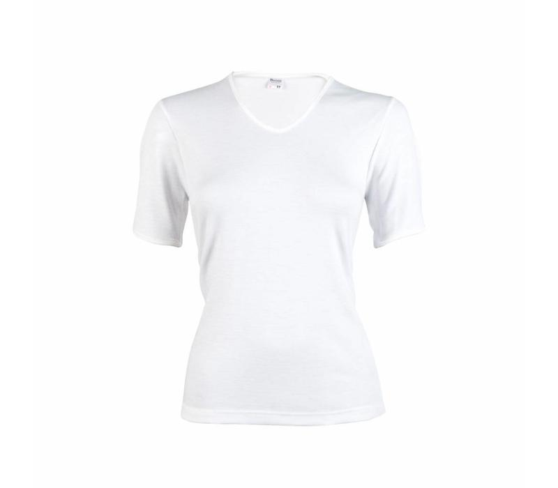 dames thermo T-shirt wit