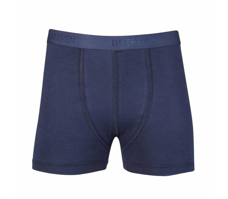 jongens boxershort comfort feeling donkerblauw 2-Pack