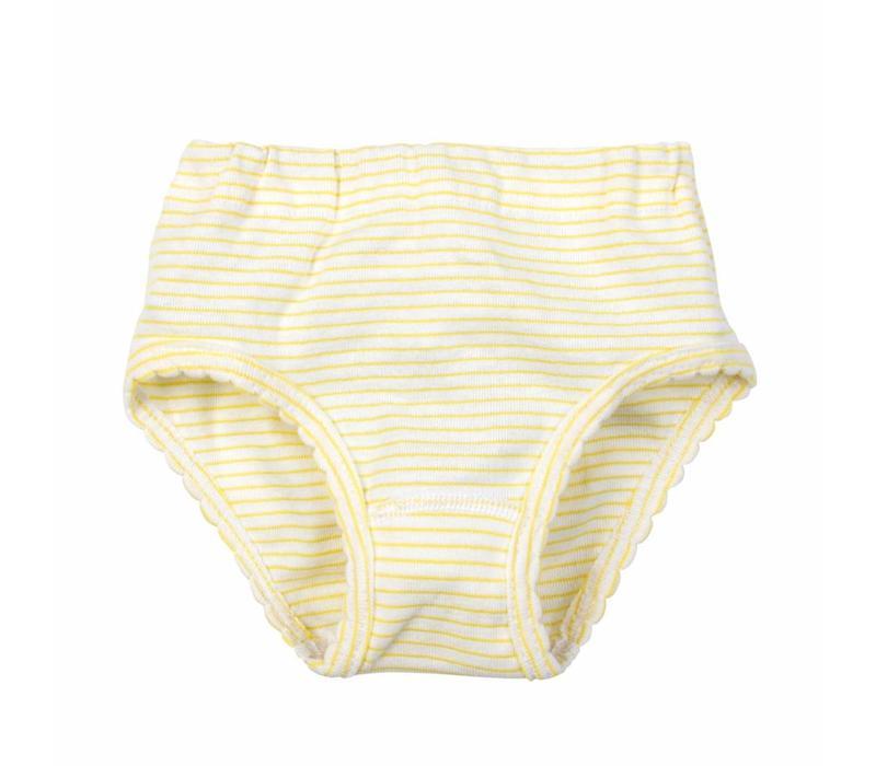 meisjes slip cindy geel 2-Pack