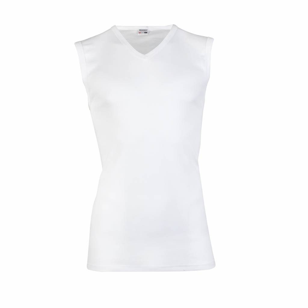 d7f1135692c heren hemd V-hals wit - Beeren Ondergoed