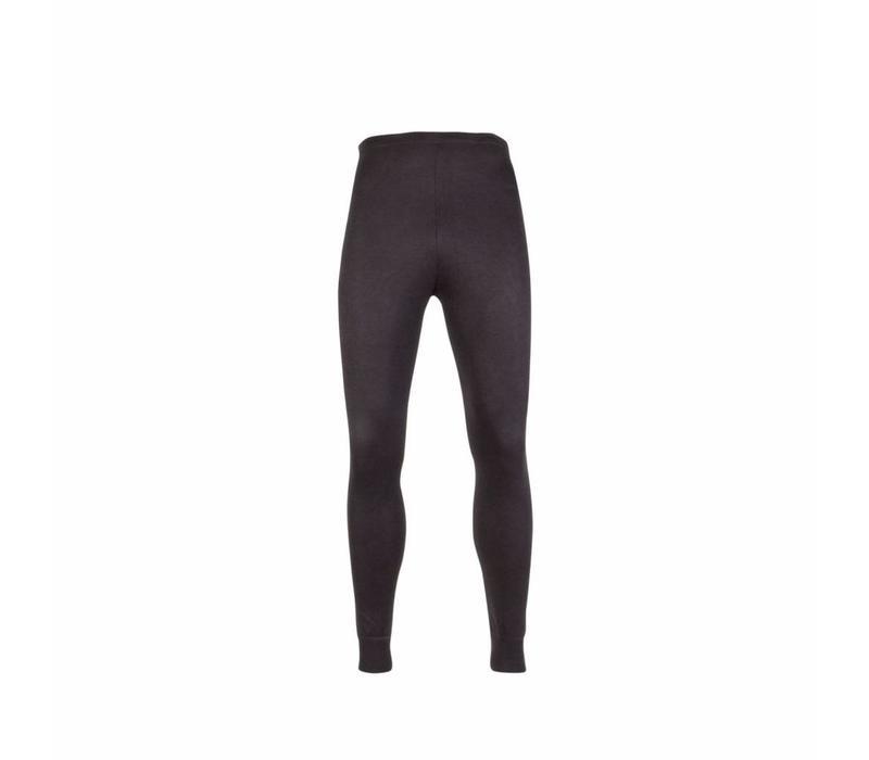 unisex pantalon thermo zwart
