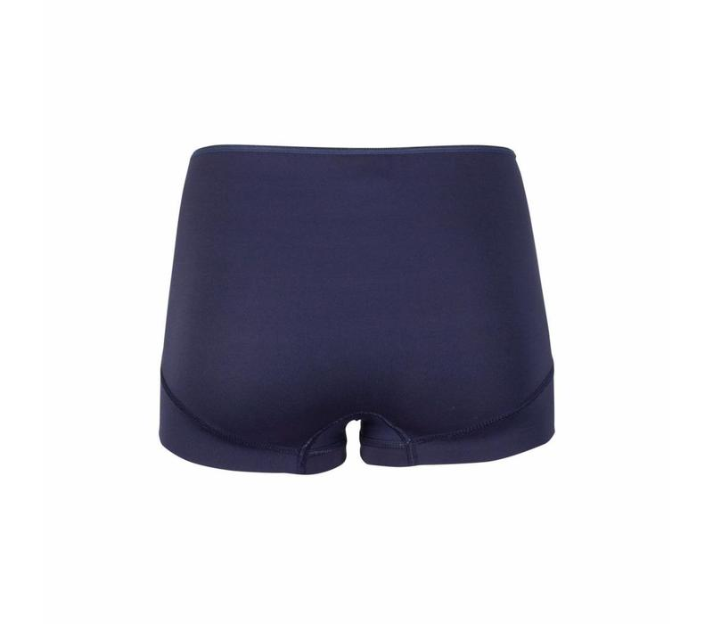 dames short elegance donkerblauw 2-Pack