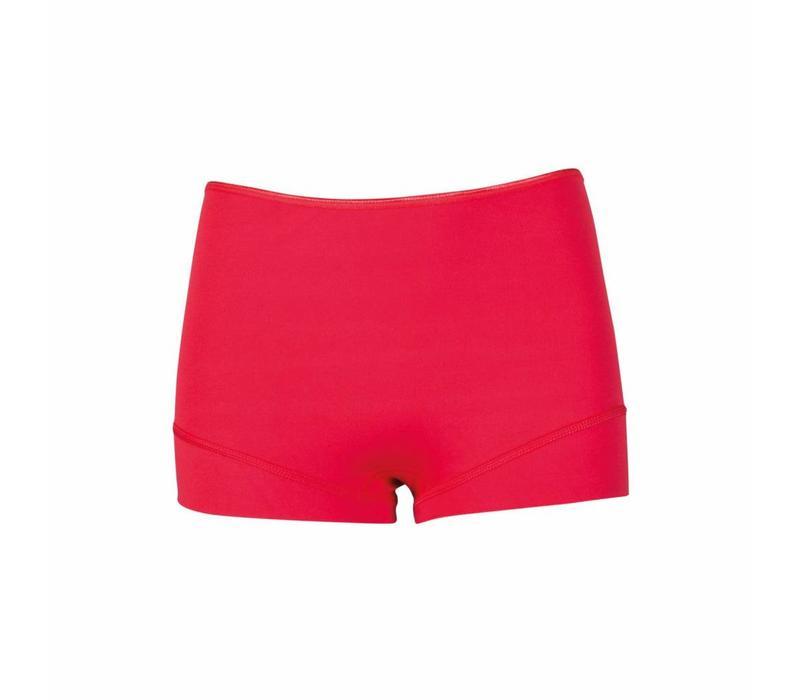 dames short elegance rood