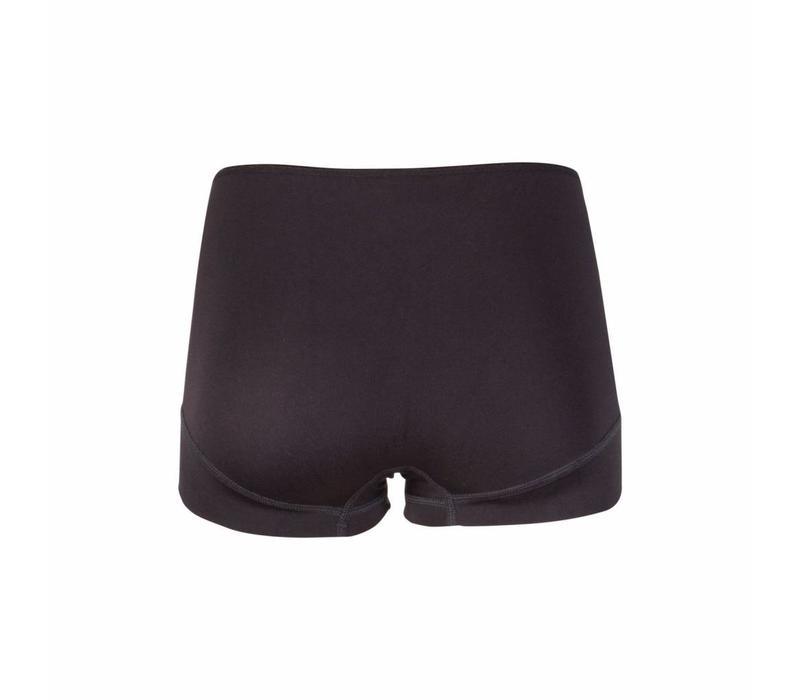 dames short elegance zwart 2-Pack