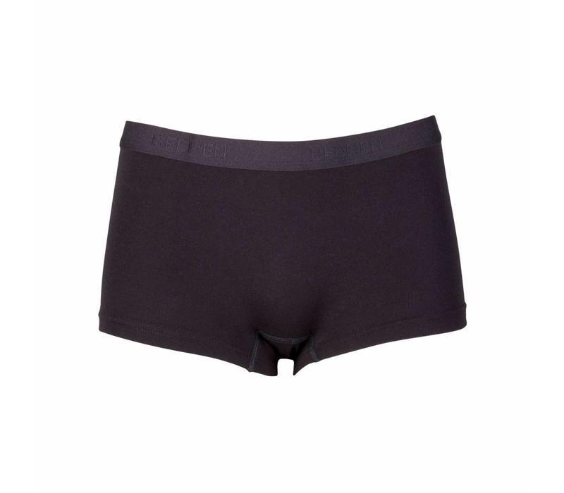 dames beeren young short zwart 2-Pack