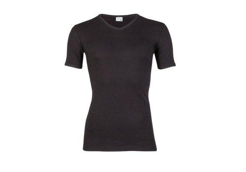 Beeren Jongens T-Shirt M3000 Zwart Met V-Hals