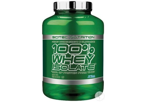 Scitec Nutrition Scitec Nutrition 100 % whey isolate