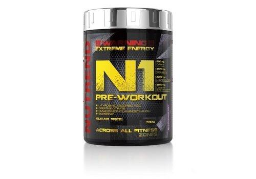 Nutrend Nutrend N1 pre-workout 510 gram