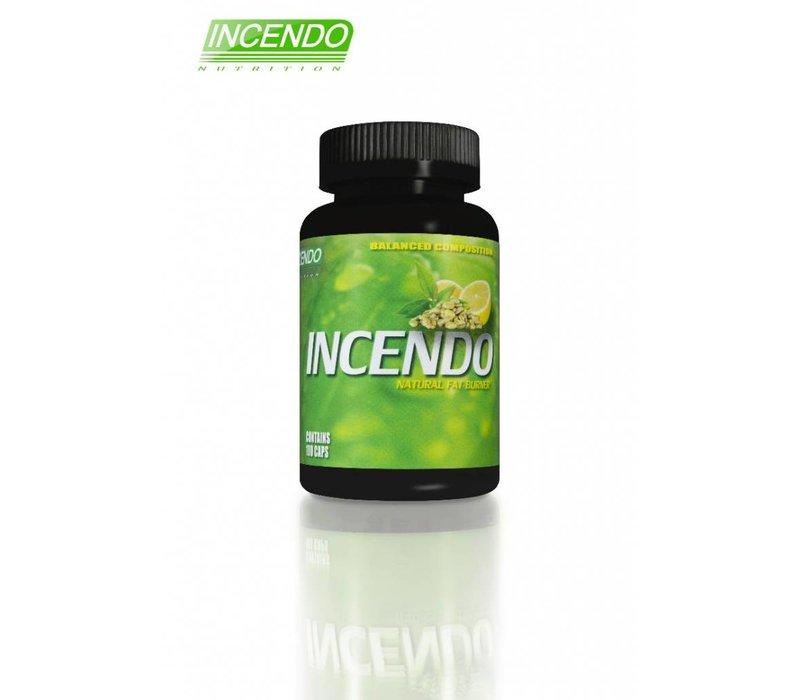 Incendo Nutrition pre-workout en fatburner in 1