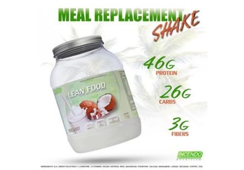 Incendo Nutrition Incendo lean food