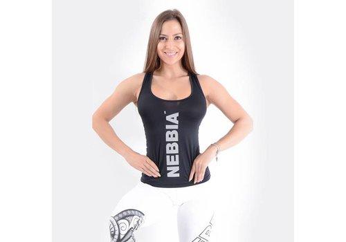 Nebbia Nebbia 221 Carbon tank top in de kleur zwart.