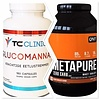 QNT Combi deal Glucomannan fatburner en de QNT metapure zero carbs