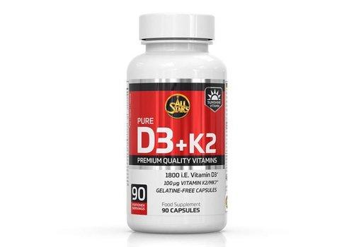 All Stars All Stars vitamine D3 + K2