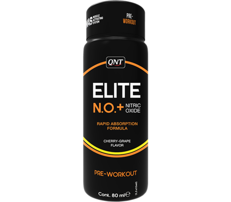 QNT NO+ Elite pre workout shot - 12x80ml - Cherry grape