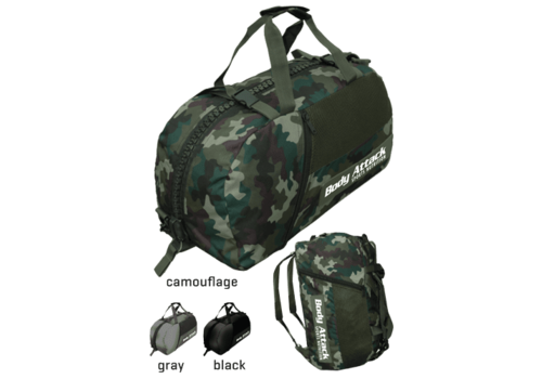 Body Attack Sports Nutrition Body Attack sports bag camouflage