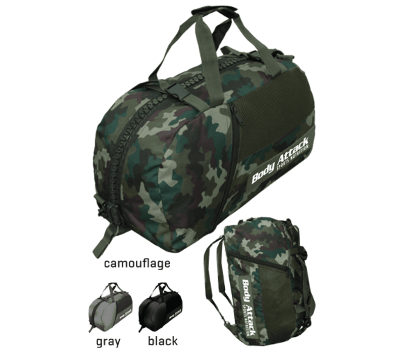 Body Attack sports bag camouflage