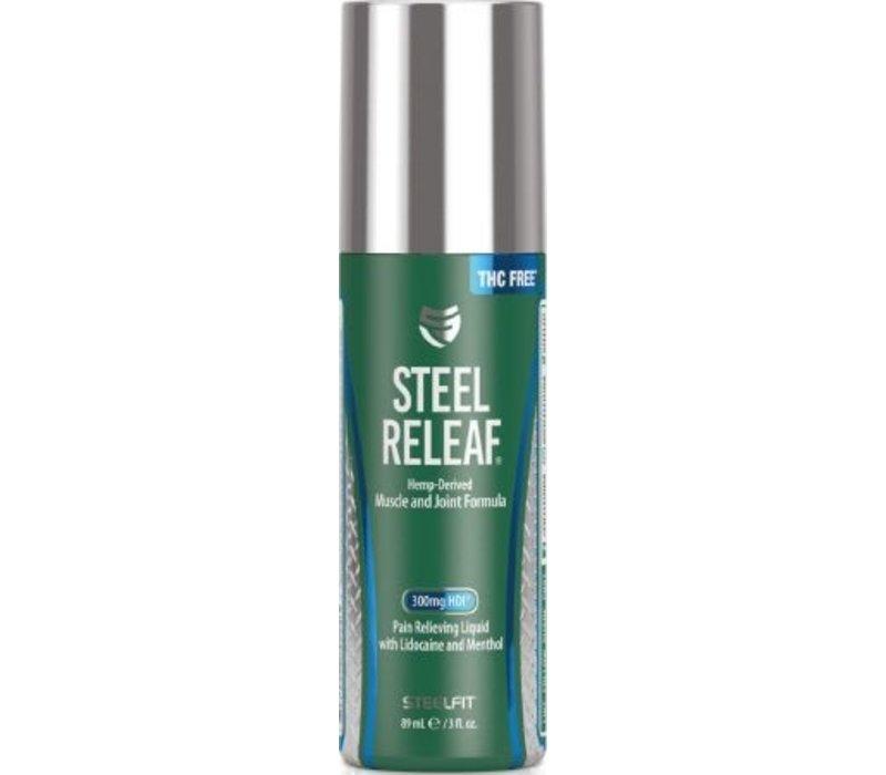 Steel Releaf- Hemp derived muscle & joint formula
