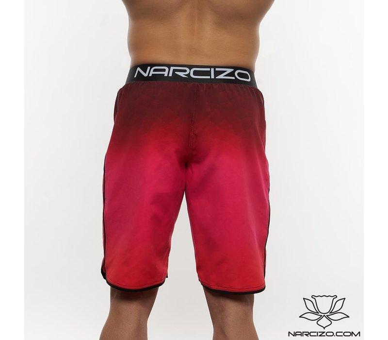 Narcizo boardshorts ruby