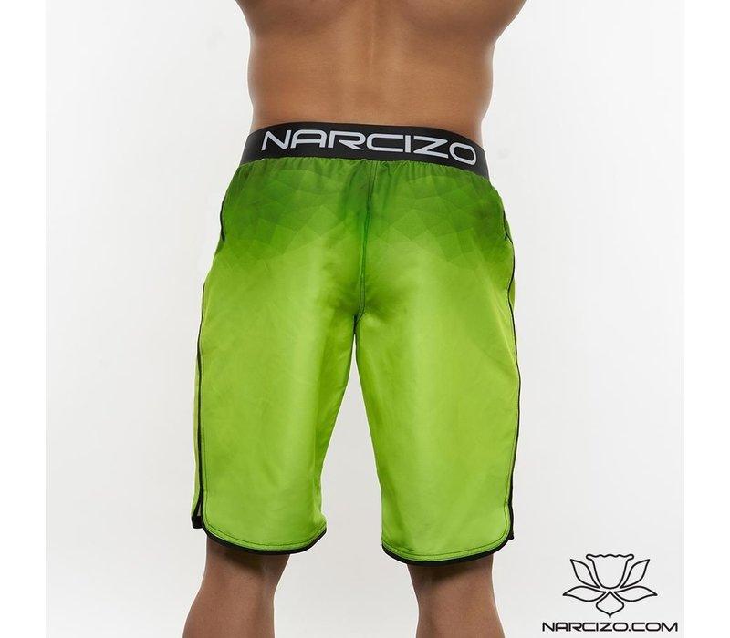 Narcizo boardshorts electric emerald