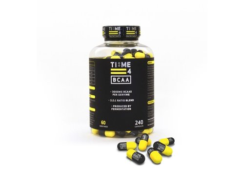 Time 4 Nutrition Time 4 Nutrition BCAA 240 caps