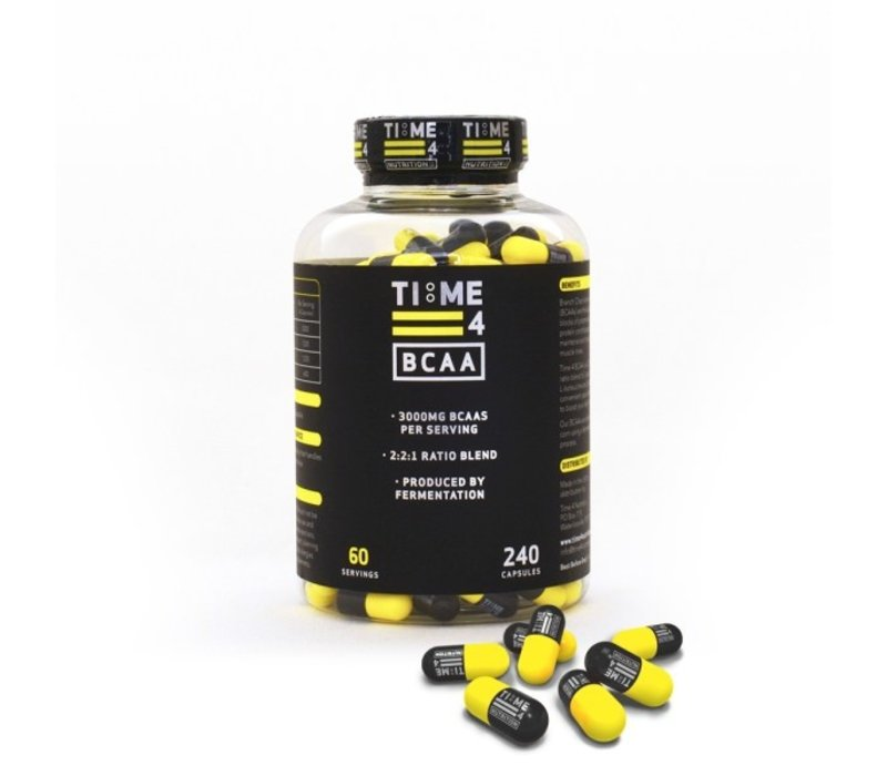 Time 4 Nutrition BCAA 240 caps