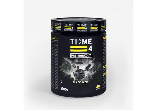 Time4nutrition Time4nutrition pre-workout 600 gram