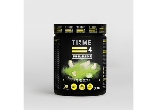 Time4nutrition Time4nutrition super greens 360 gram