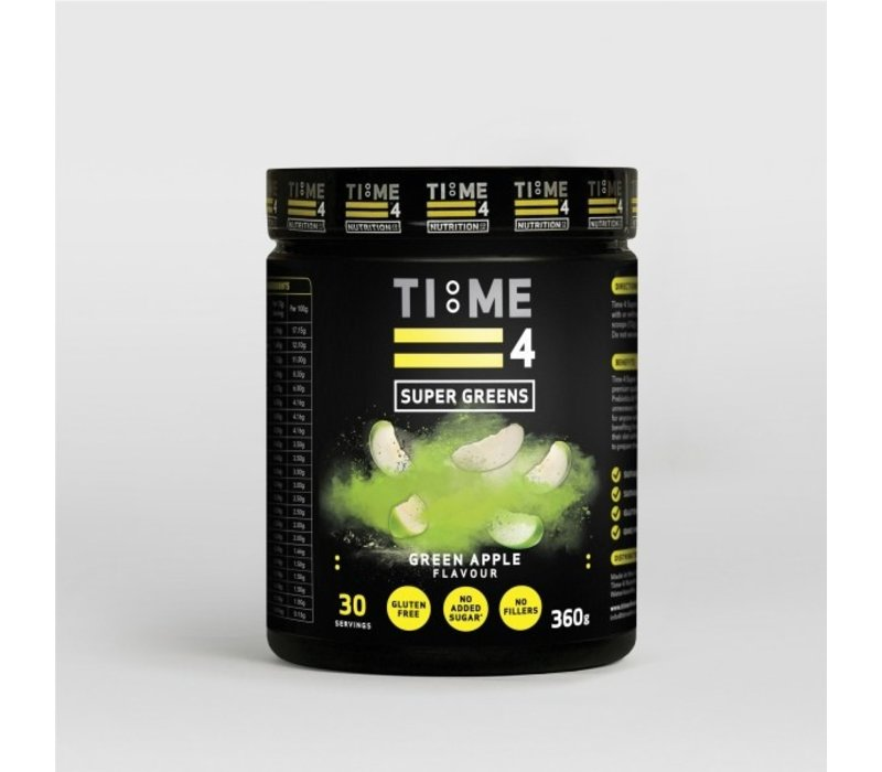 Time 4 Nutrition Super greens 360 gram