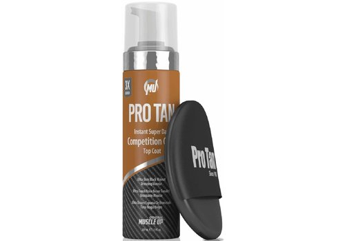 pro tan Pro tan instant super dark competition color- top coat