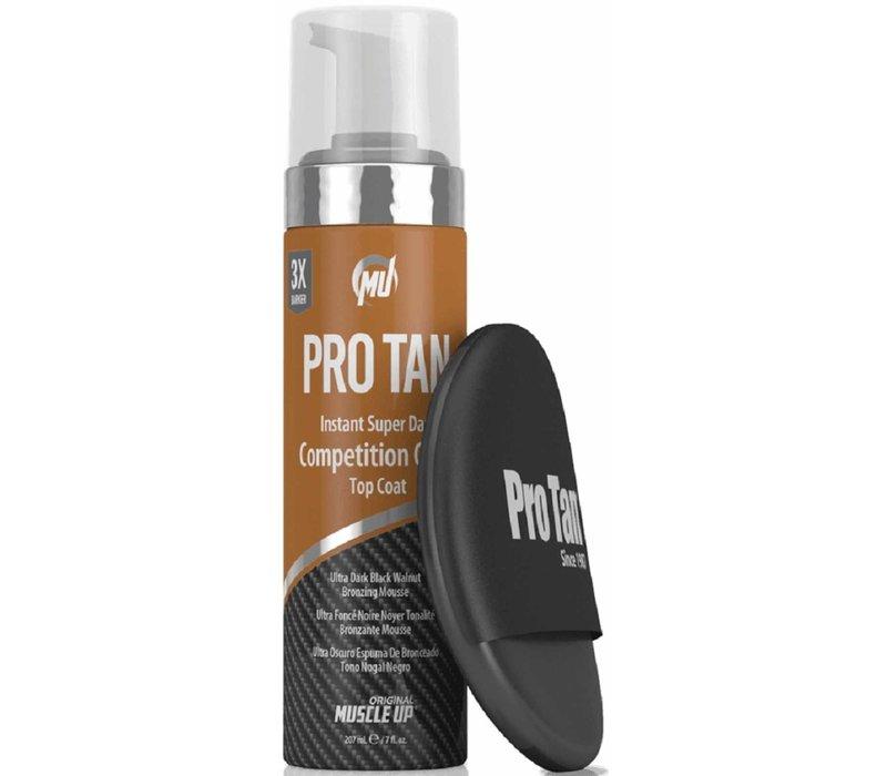 Pro tan instant super dark competition color- top coat